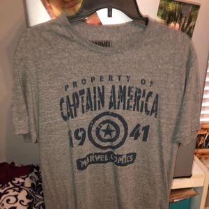captain america shirt!